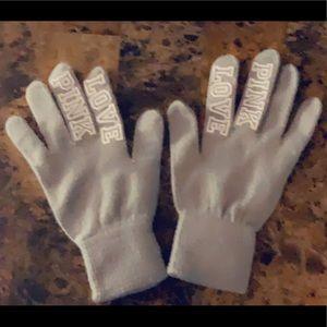 Victoria Secret Pink Gloves